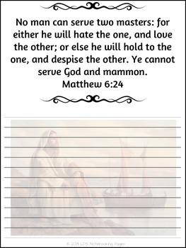 New Testament Scripture Masteries - Manuscript