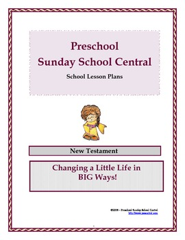 New Testament Sunday School Lessons