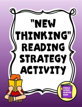New Thinking Reading Strategy Activity