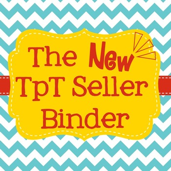 New TpT Seller Binder