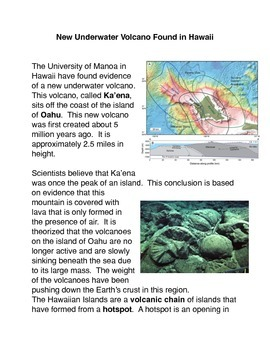 New Underwater Volcano Found in Hawaii