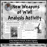 New Weapons in WWI Inquiry & Analysis Activity Collaborati
