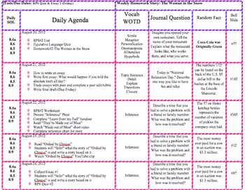 *Free* New Weekly Lesson Plan Template