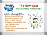 New West PowerPoint and Notes Bundle