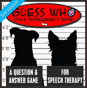 Who Stole Twinkleberry's Bone? Formulating Questions.