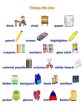 New Words For ELL Students