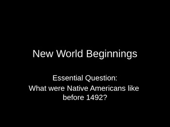 New World Beginnings - Advanced Placement U.S. History
