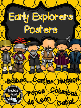 New World Early Explorers Posters