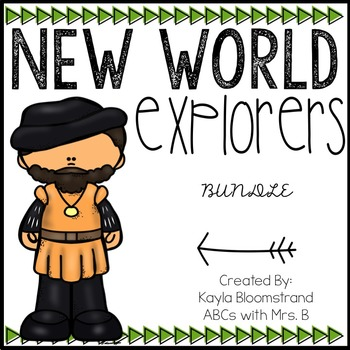 New World Explorers BUNDLE
