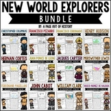 New World Explorers Biography Pack BUNDLE | Distance Learning