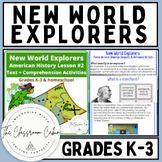 New World Explorers Lesson #2 Text & Comprehension Boom Ca
