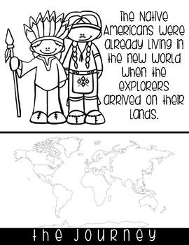 New World Explorers No-Cut Flipbook