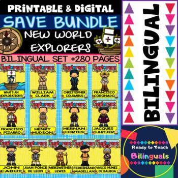 New World Explorers - Save Bundle - Bilingual