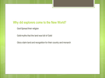 New World Powerpoint