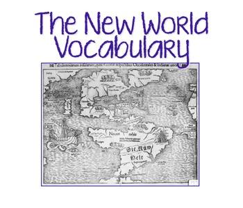 New World Vocabulary