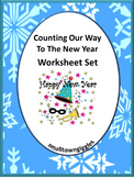 New Year Math, Special Education and Autism Resources, Winter Math Centers