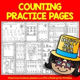 New Years 2020 (Counting Practice Pages for kids)