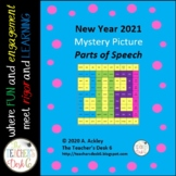 New Year 2019 Mystery Picture Parts of Speech