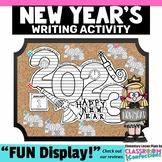 New Years 2018: New Year's Writing Activity