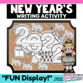 New Years 2019: New Year's Writing Activity