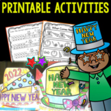 New Years  2020 (Printable Activities)
