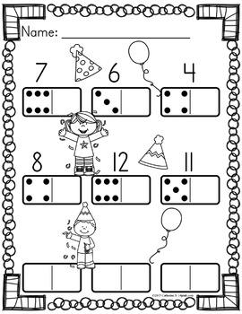 Domino Worksheets