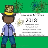 New Year 2018 Activities: Math, Time, Goal Setting, More!