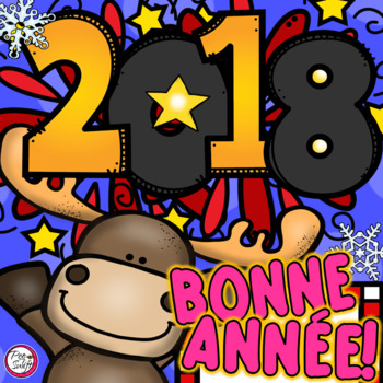 New Year 2018 FRENCH Bonne Année!