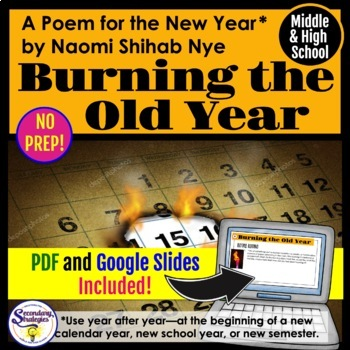 New Year 2017 Close Reading and Poetry Analysis