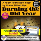 New Year 2018 Close Reading and Poetry Analysis