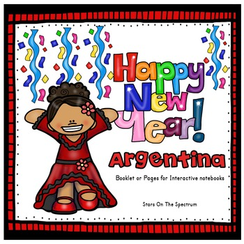 New Year 2018 Craftivity New Years Around the World Argentina