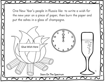 New Year 2019 Craftivity New Years Around the World Russia