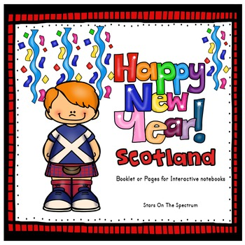 New Year 2018 Craftivity New Years Around the World Scotland