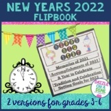 New Years 2018 Activities and Resolutions for 3rd Grade, 4