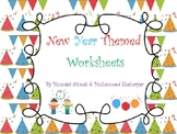 New Year Worksheets 2018 :