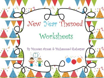 New Year Worksheets 2017 :