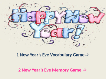New Year 2016 Games