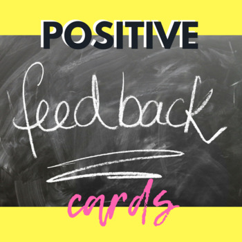 New Year 2017 - POSITIVE FEEDBACK CARDS