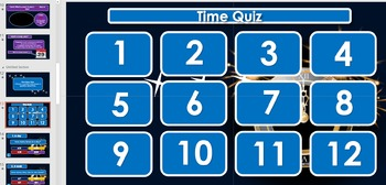 New Year (2016): Units of time (presentation/worksheets)