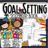 New Years 2019 - a resolution goals flip book - writing and craft activity