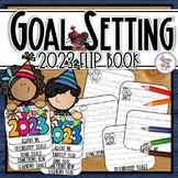 New Years 2020 - a resolution goals flip book - writing an