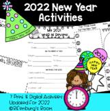 2021 New Year NO PREP DIGITAL and Print Activities