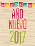 New Year 2017 Activity Nuevo Ano