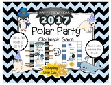 New Year 2017: Polar Party Clothespin Game (Bonds of 20 and 17)