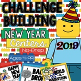 New Year 2018 Building Challenge STEM and Writing Centers