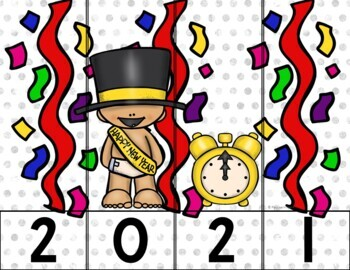 New Year 2018 Counting & Writing Resolutions