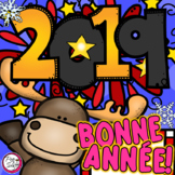 New Year 2019 FRENCH Bonne Année!