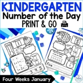 New Year 2021 Number Sense Morning Work Number of the Day