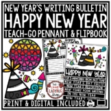 Digital New Year's 2022 Activities Bulletin Board: Resolut