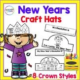 NEW YEARS 2018 ACTIVITIES New Year Craftivities CROWNS